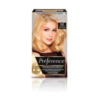 L'Oréal Paris Préférence Les Blondissimes haarkleuring - 02 Super licht goudblond, 02 Super Licht Goudblond