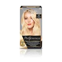 L'Oréal Paris Préférence Les Blondissimes haarkleuring - 01, 01 Super Licht Natuurlijk Blond