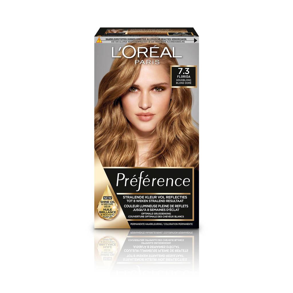 L'Oréal Paris Préférence haarkleuring - 7.3 Floride