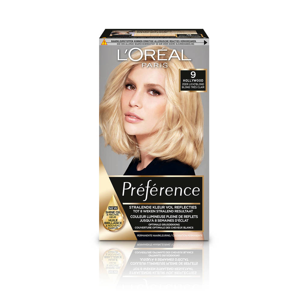 L'Oréal Paris Préférence haarkleuring - 9 Hollywood, 9.0 Hollywood