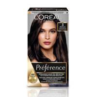 L'Oréal Paris Préférence haarkleuring - 3 Brasilia, 3.0 Brasilia