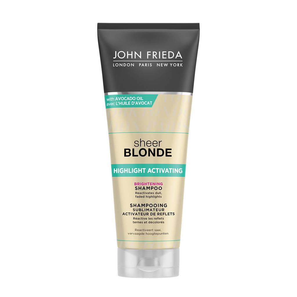 John Frieda Highlight Activating Brightening shampoo