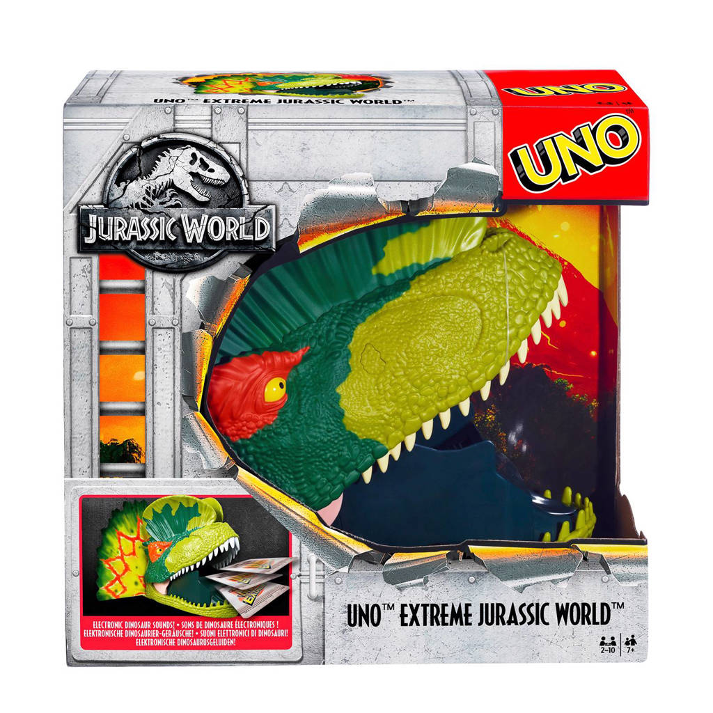 Mattel Uno Jurassic world kaartspel