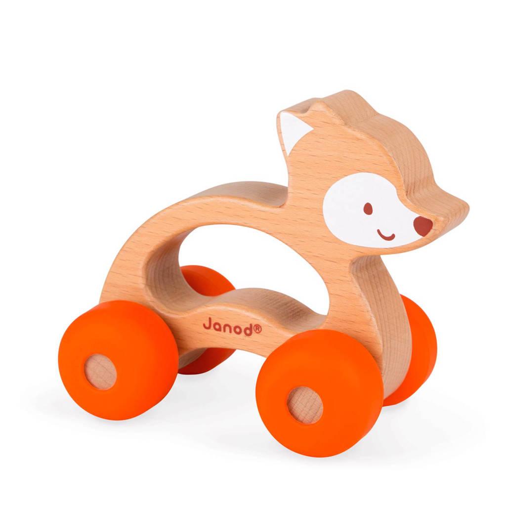 Janod houten duwfiguur vos