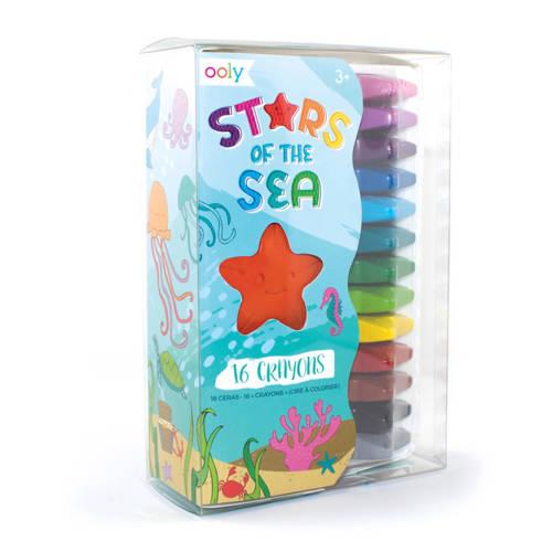 Ooly gekleurde zeesterren 16 stuks kopen