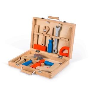 houten Bricokids  gereedschapskist