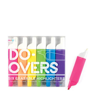 Do-Overs Erasable markeerstiften (6 st.)