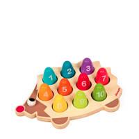 Janod houten egel cijfers