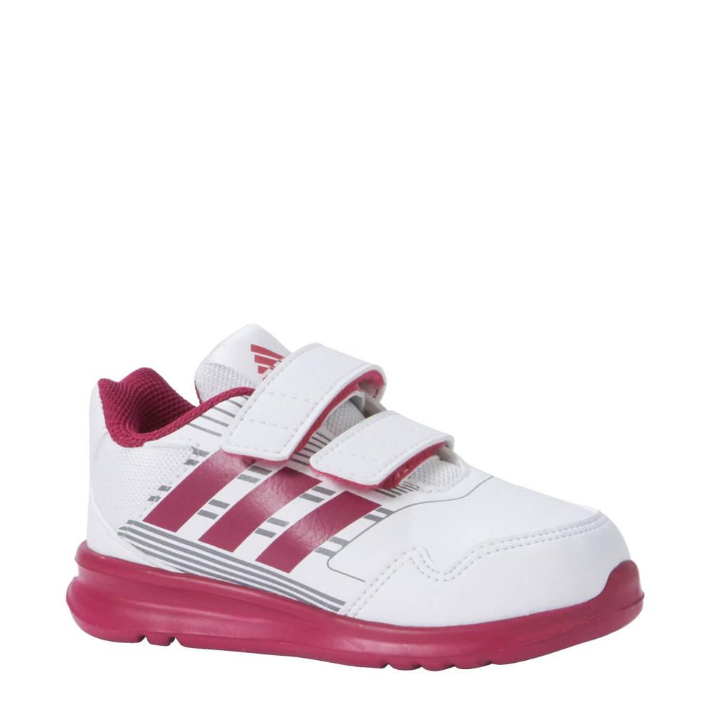 adidas performance AltaRun CF I sportschoenen, Wit/roze