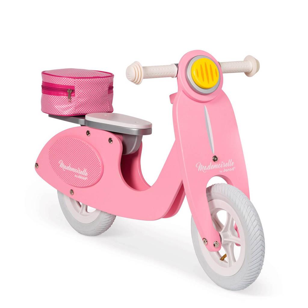 Janod scooter mademoiselle roze, Roze