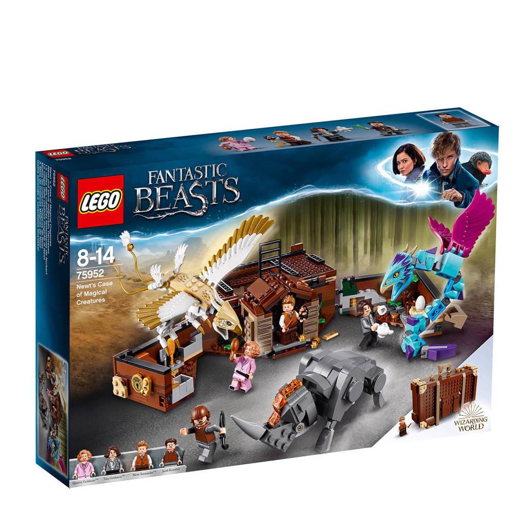 LEGO Fantastic Beasts newt scamander suitcase 75952
