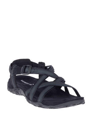 Terran Ari Lattice outdoor sandalen met leer