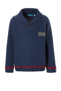 lief! trui met wol blauw (jongens)