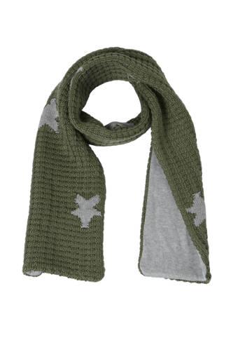 sjaal met wol met sterren army