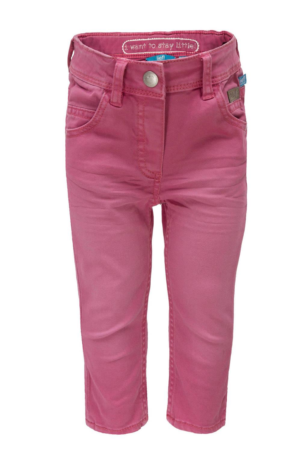 lief! broek warm roze, Warm roze