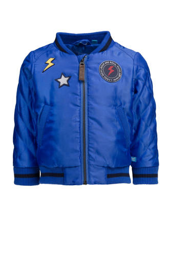 bomberjack blauw