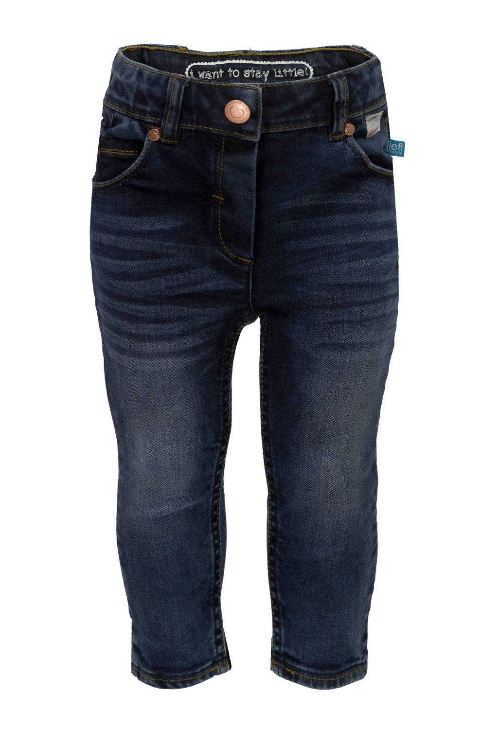 lief! skinny jeans, Dark denim