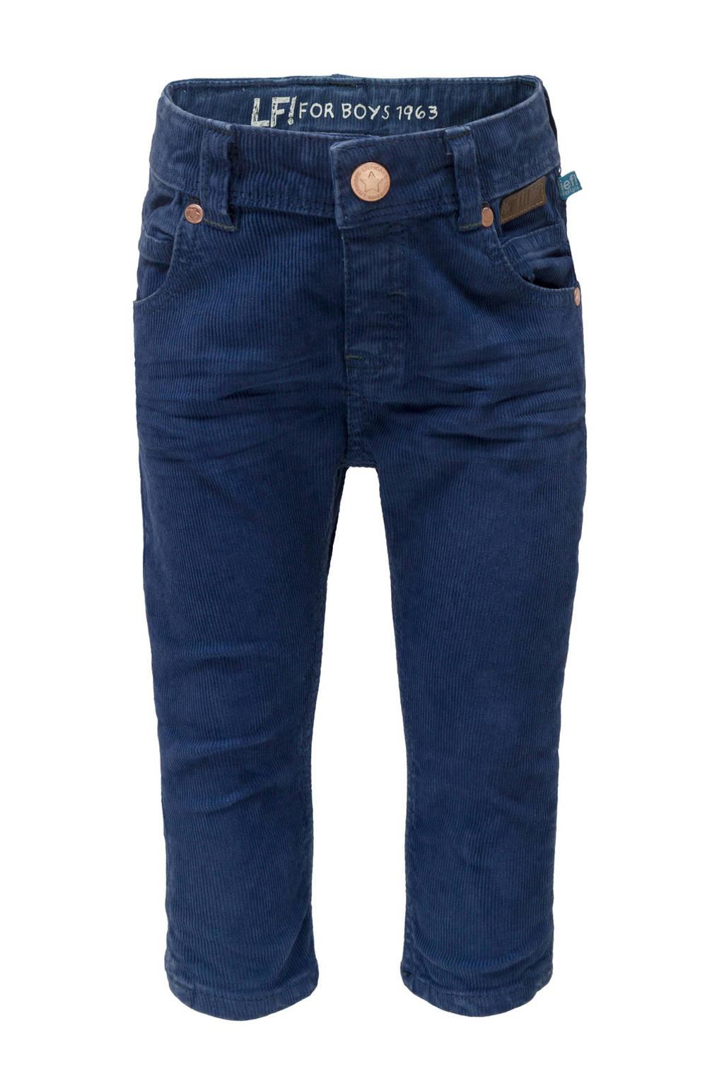 lief! corduroy broek blauw, Donkerblauw