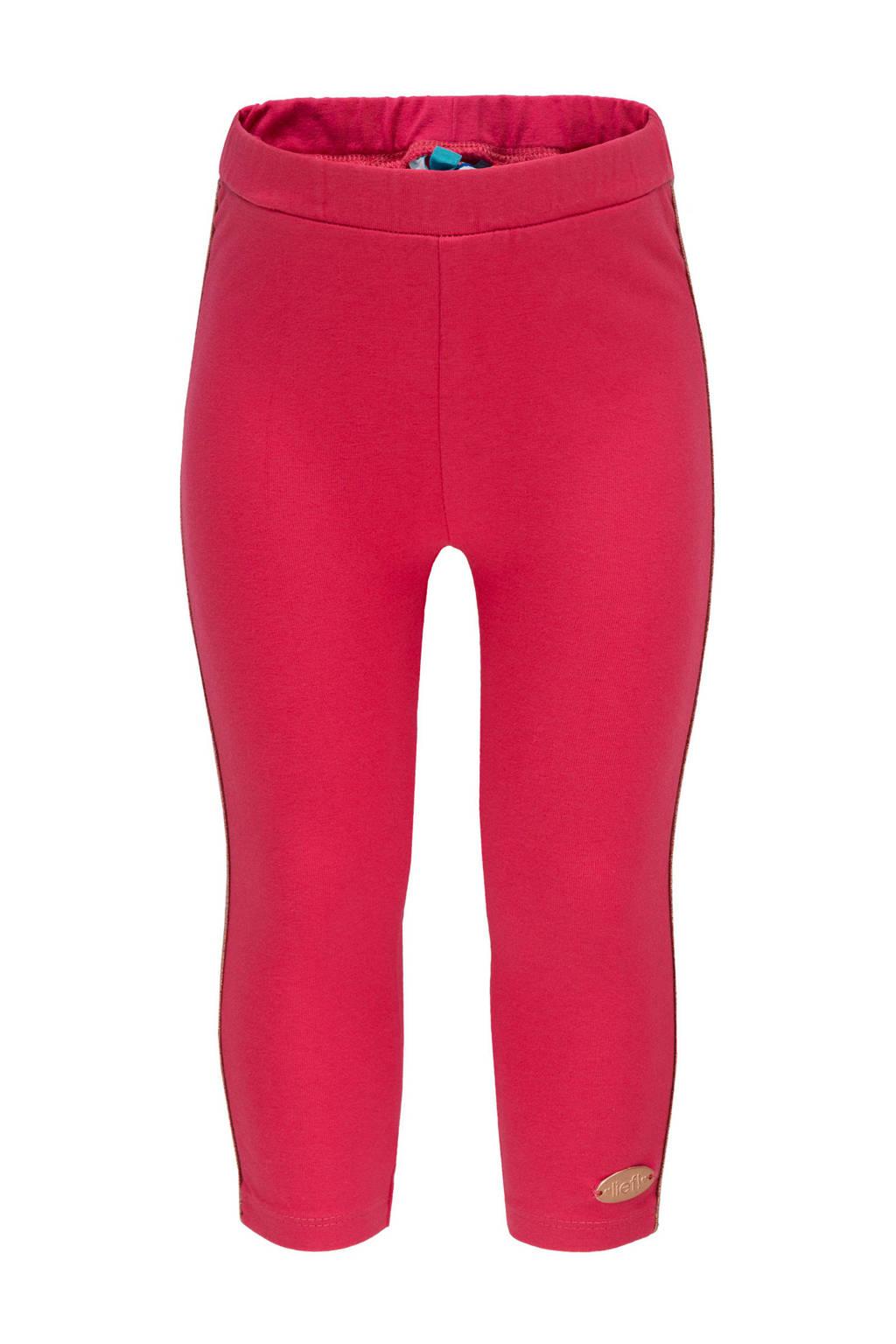 lief! legging met zijstreep roze, Roze