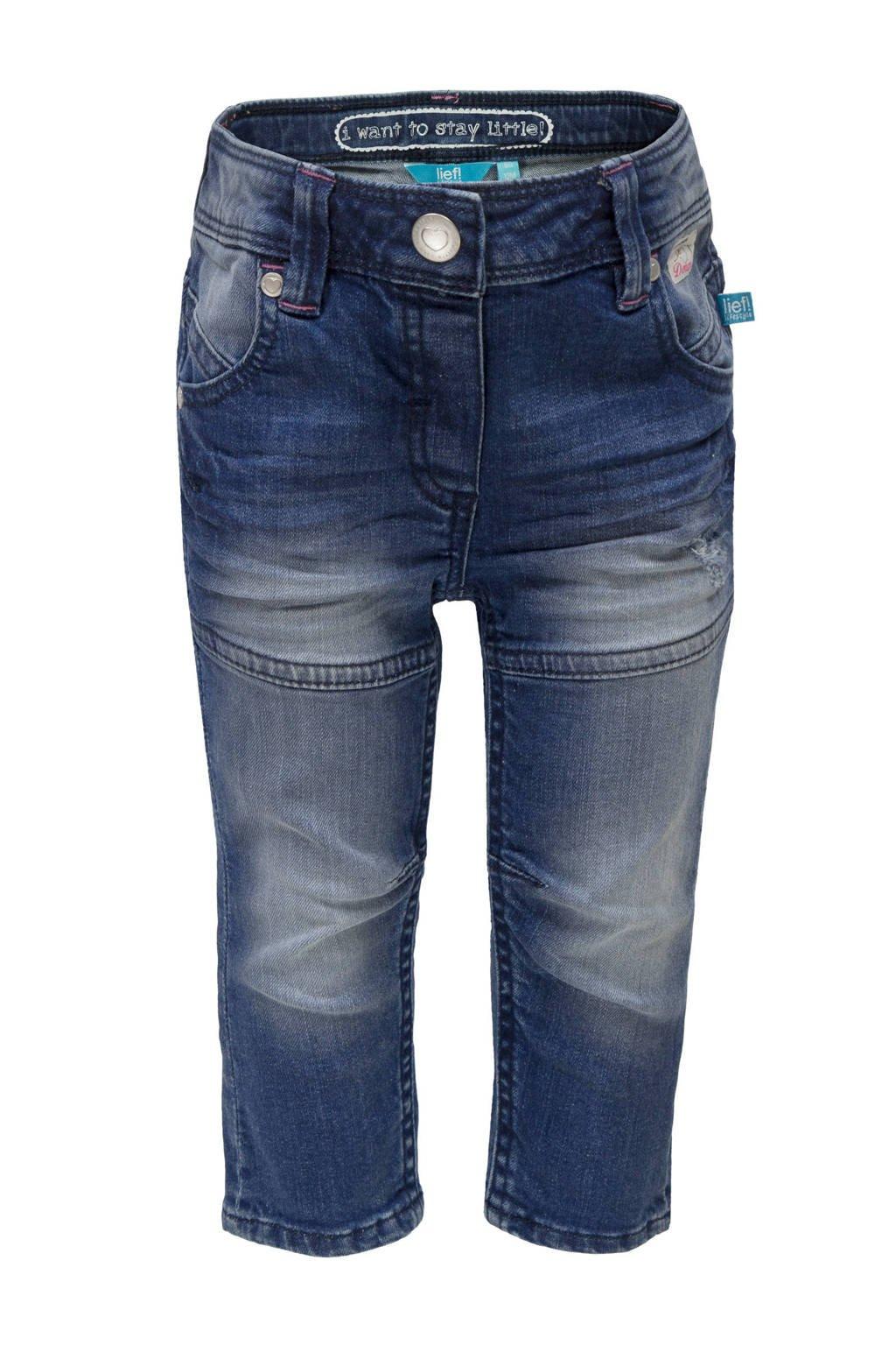 lief! jeans donkerblauw, Donkerblauw