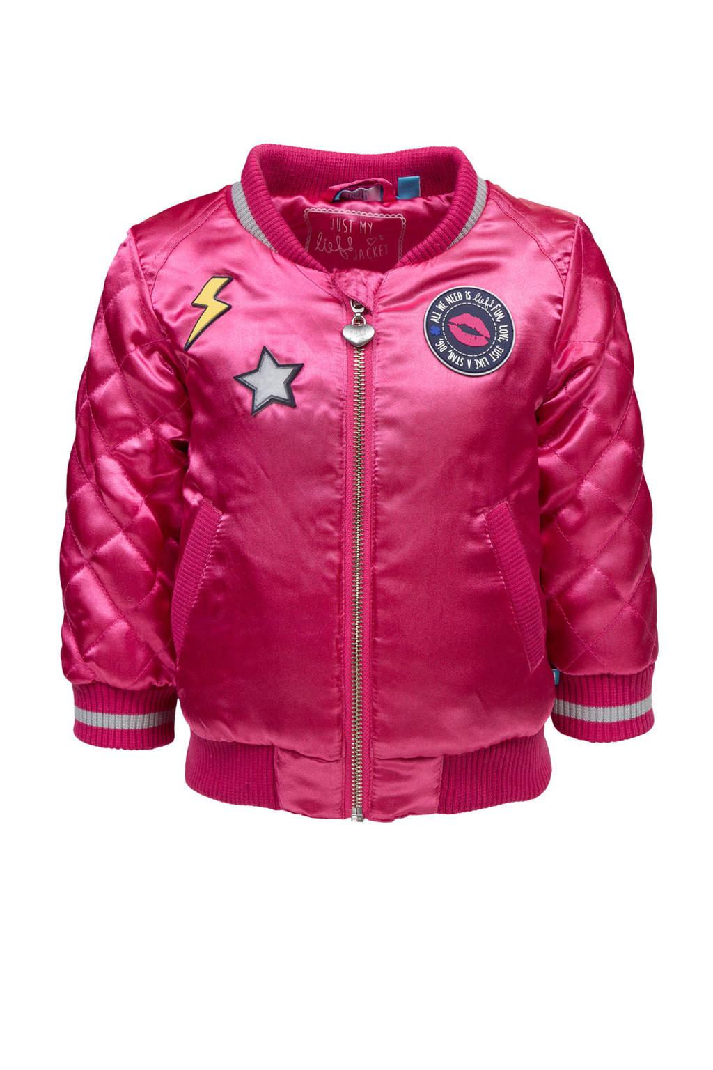 lief! bomberjack roze, Roze