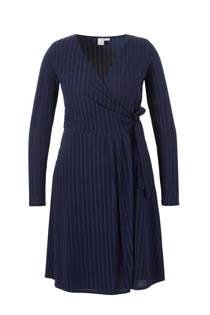 Lost Ink Plus jurk met overslag