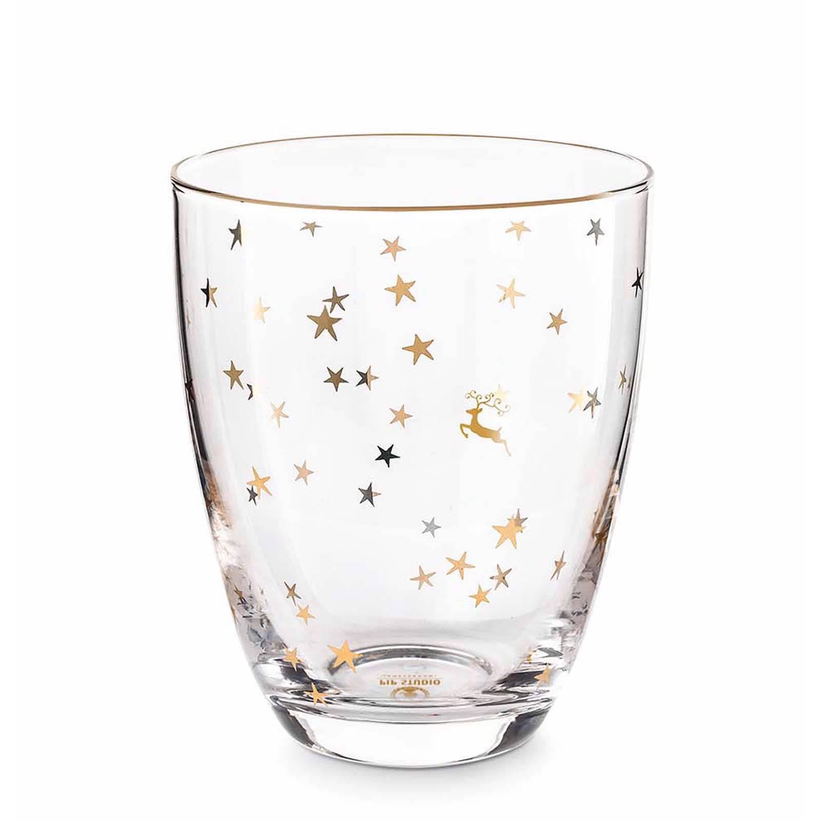 Pip Studio Royal Christmas waterglas (Ø8,9 cm)