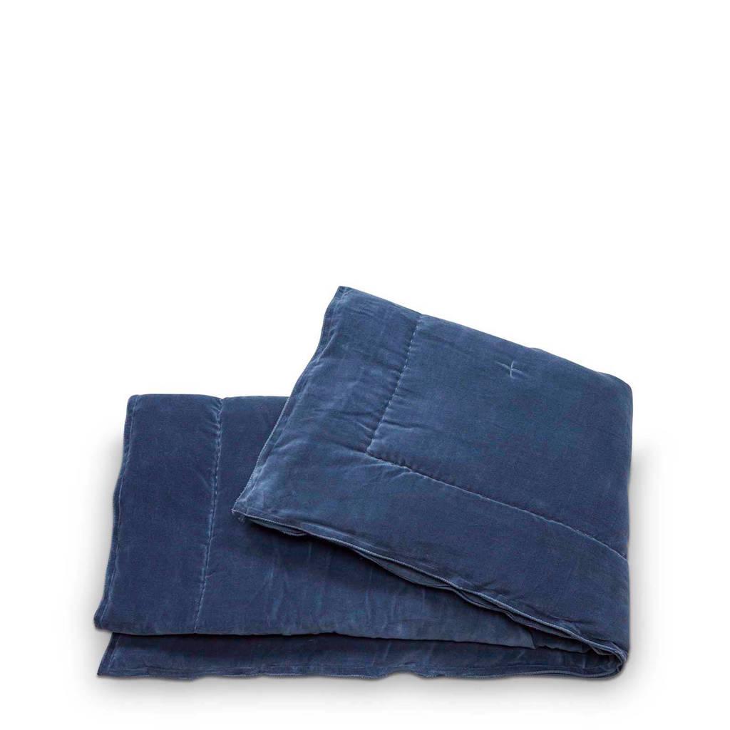 vtwonen plaid (130x170 cm), Blauw