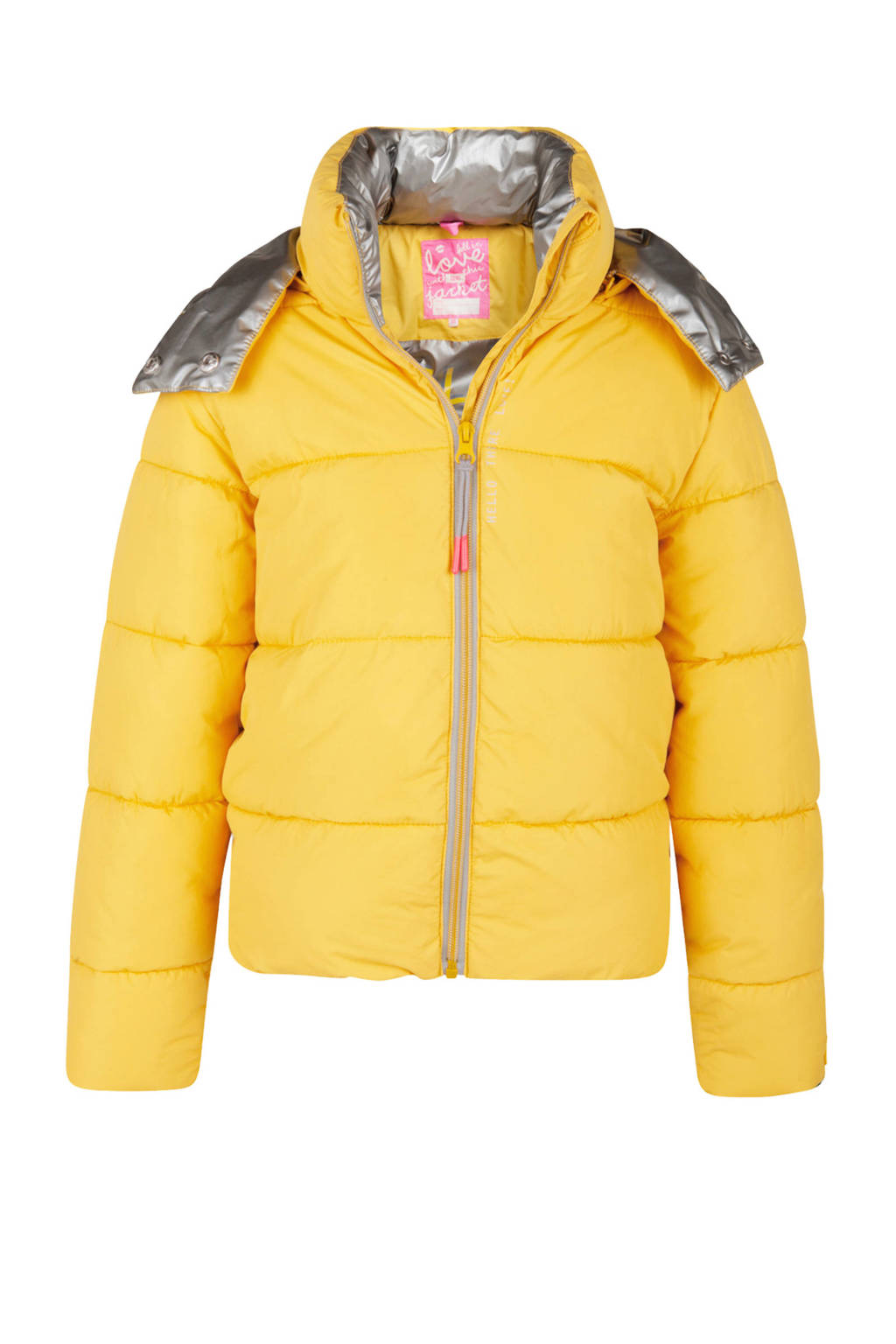 WE Fashion winterjas geel, Geel