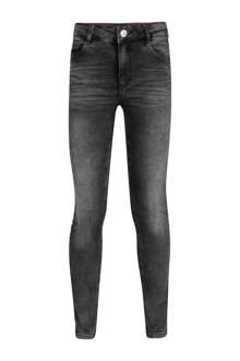 Blue Ridge skinny jeans Nora Jade met zijstreep grijs