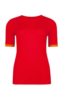 WE Fashion top rood (dames)