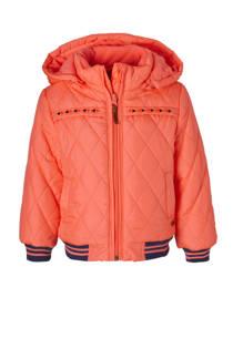 Babyface winterjas oranjeroze (meisjes)