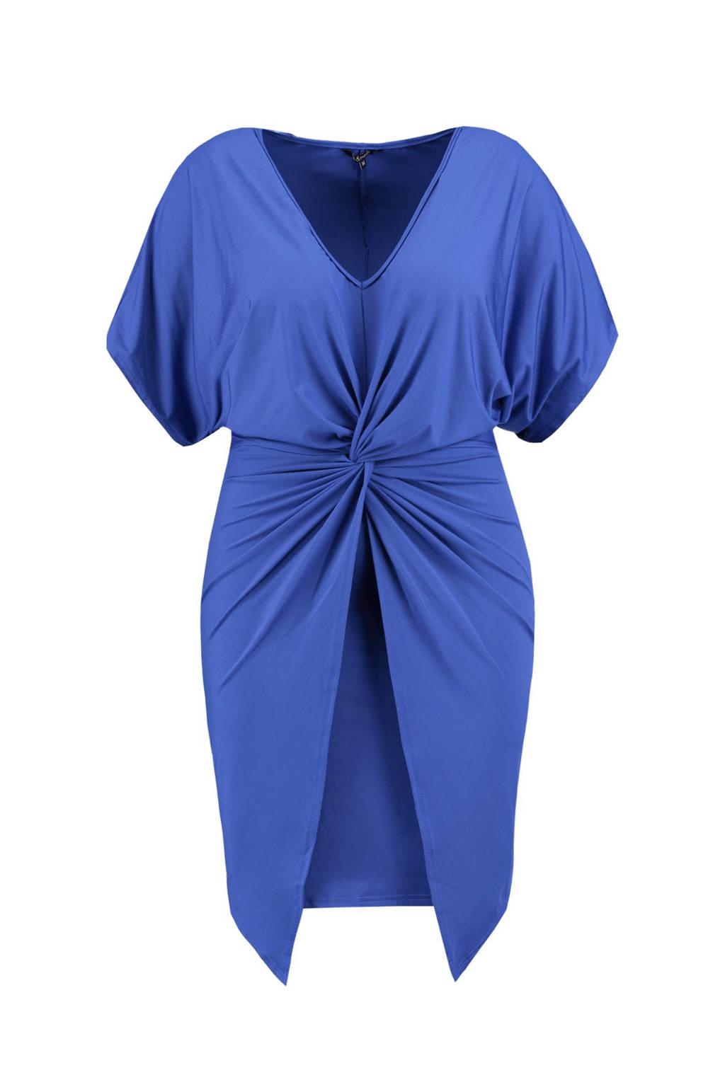 MS Mode jurk blauw, Blauw