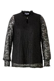 Zhenzi blouse met stippen (dames)