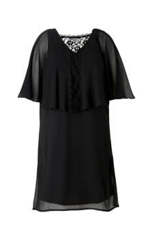 jurk met kant detail