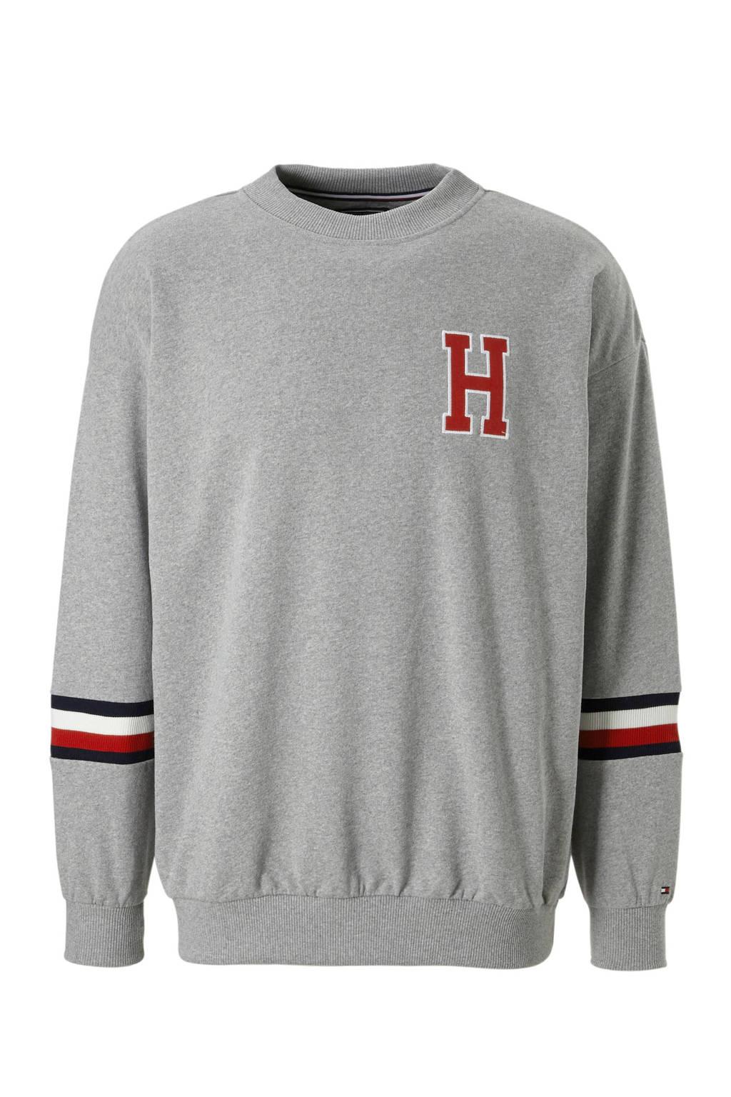 Tommy Hilfiger sweater grijs mêlee, grijs mêlee