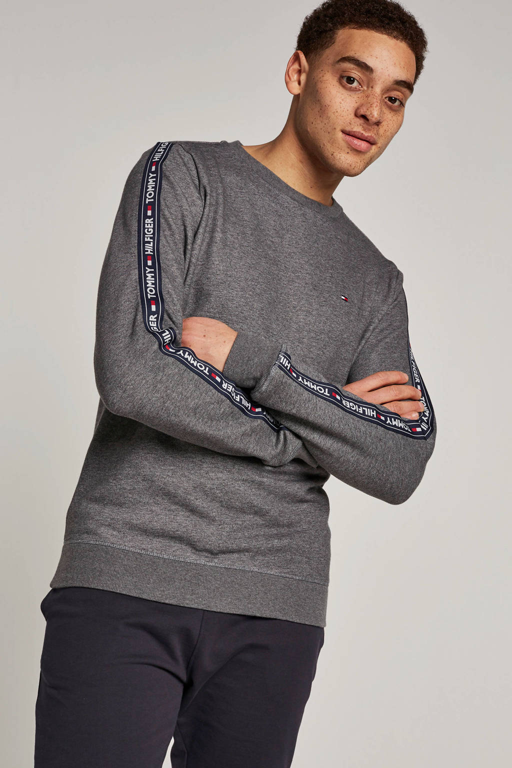 Tommy Hilfiger sweater antraciet, Antraciet
