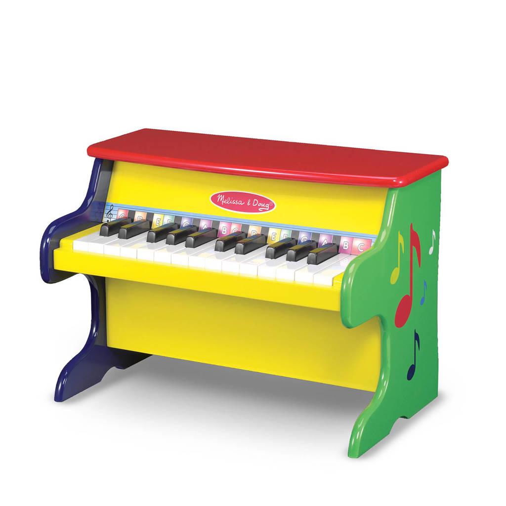 Melissa & Doug houten gekleurde houten piano