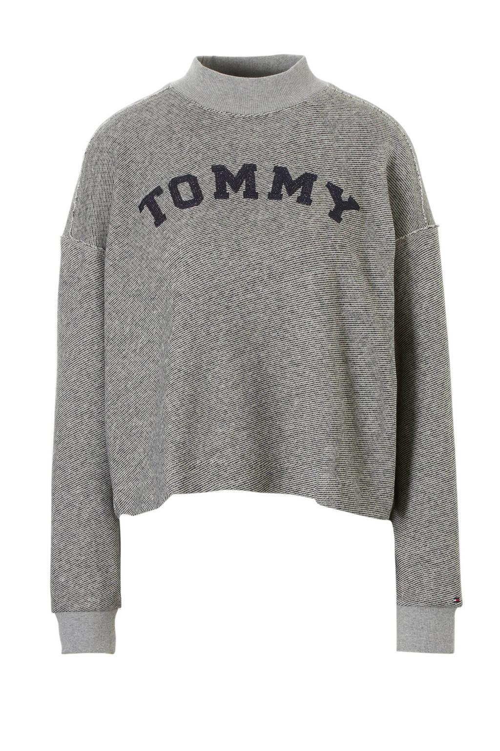 Tommy Hilfiger loungetop grijs, Grijs
