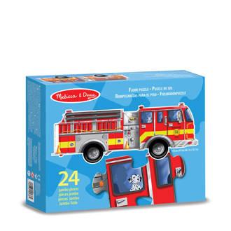 brandweer  vloerpuzzel 24 stukjes