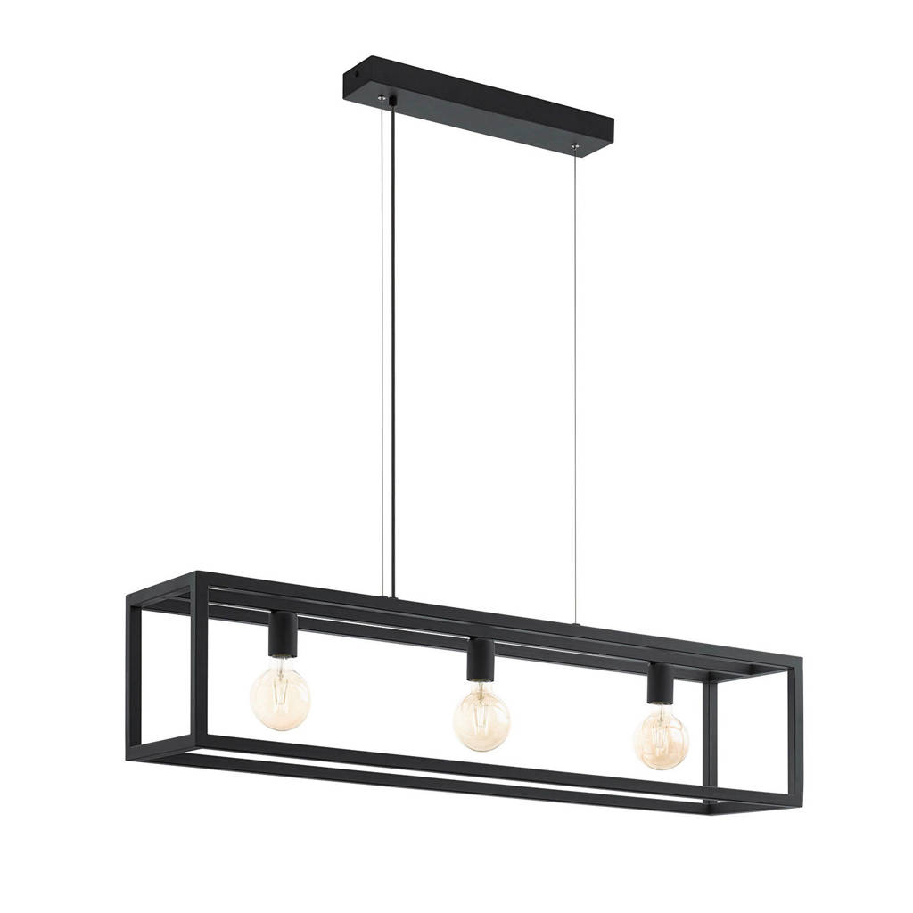 Eglo hanglamp Elswick, Zwart