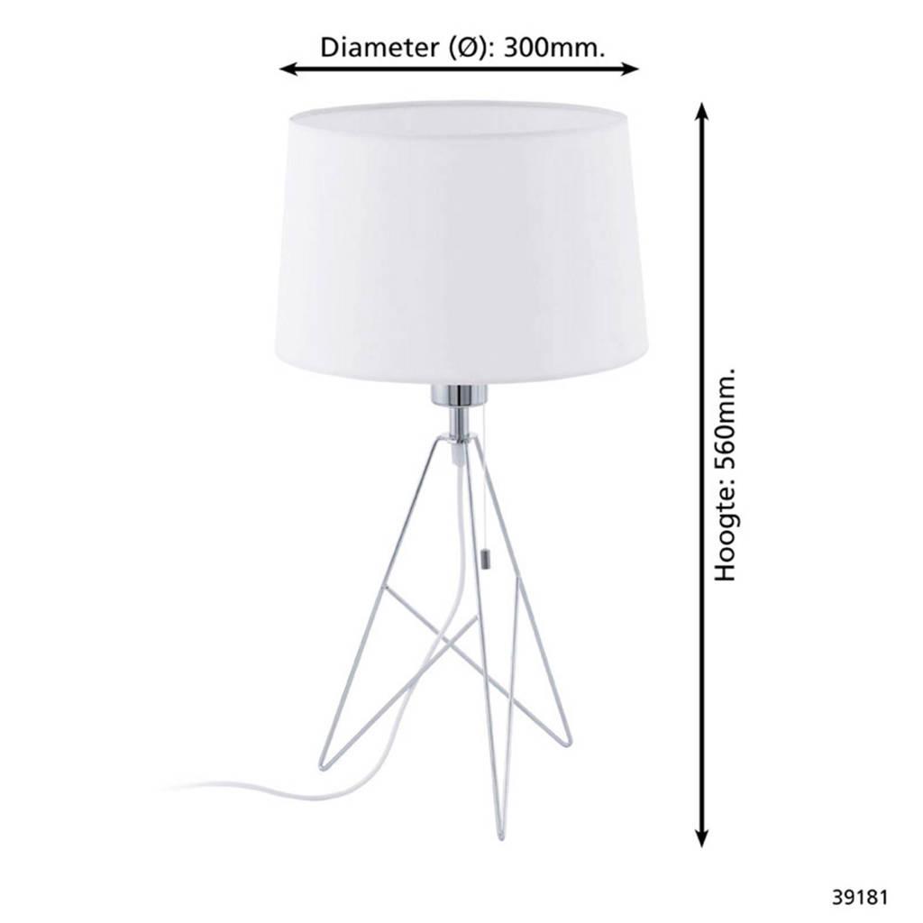 Eglo tafellamp Camporale, Chroom