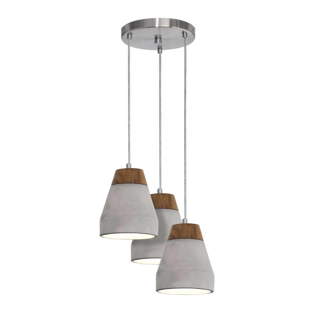 Eglo hanglamp Tarega (3 lichts), Grijs