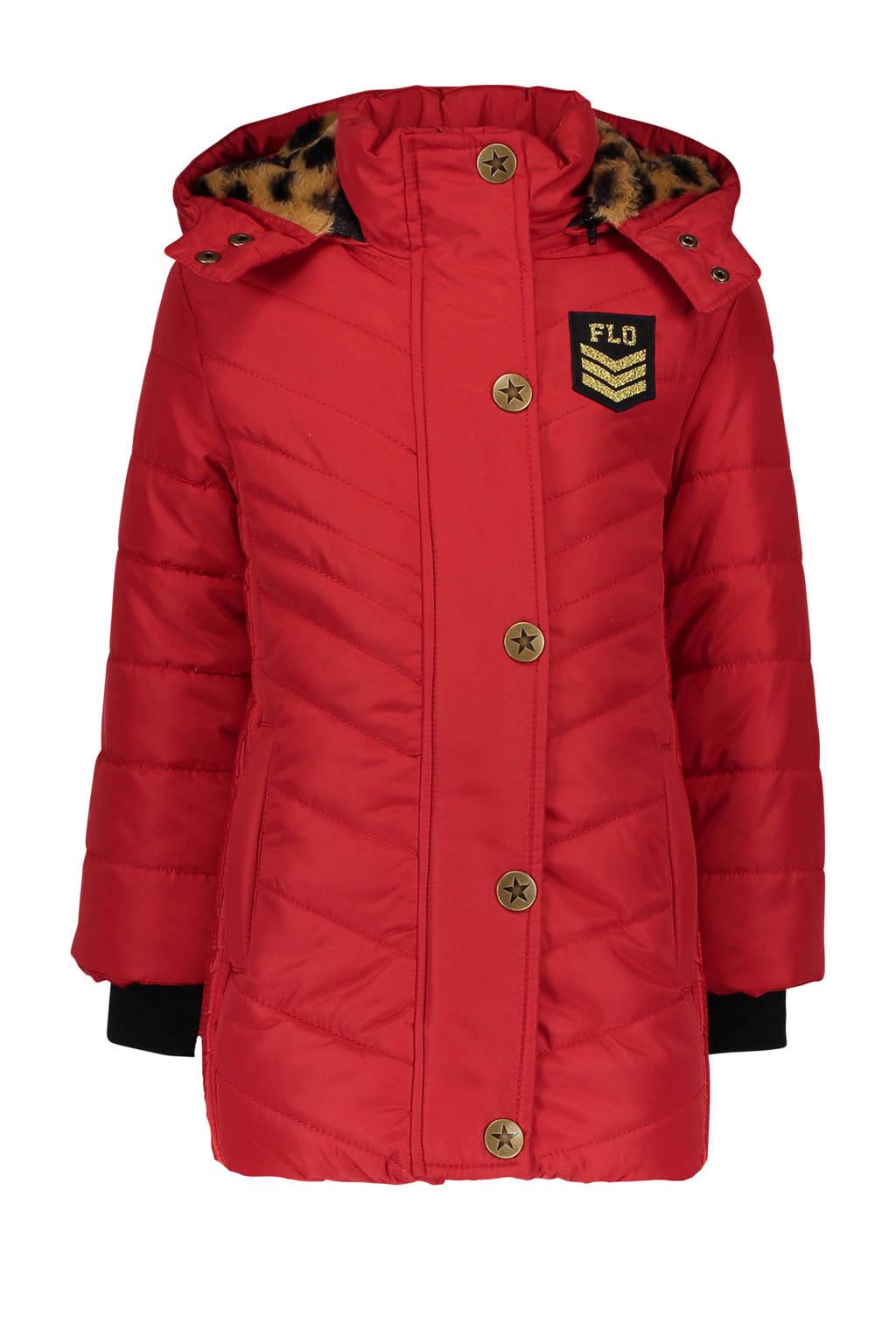 Like Flo winterjas rood, Rood