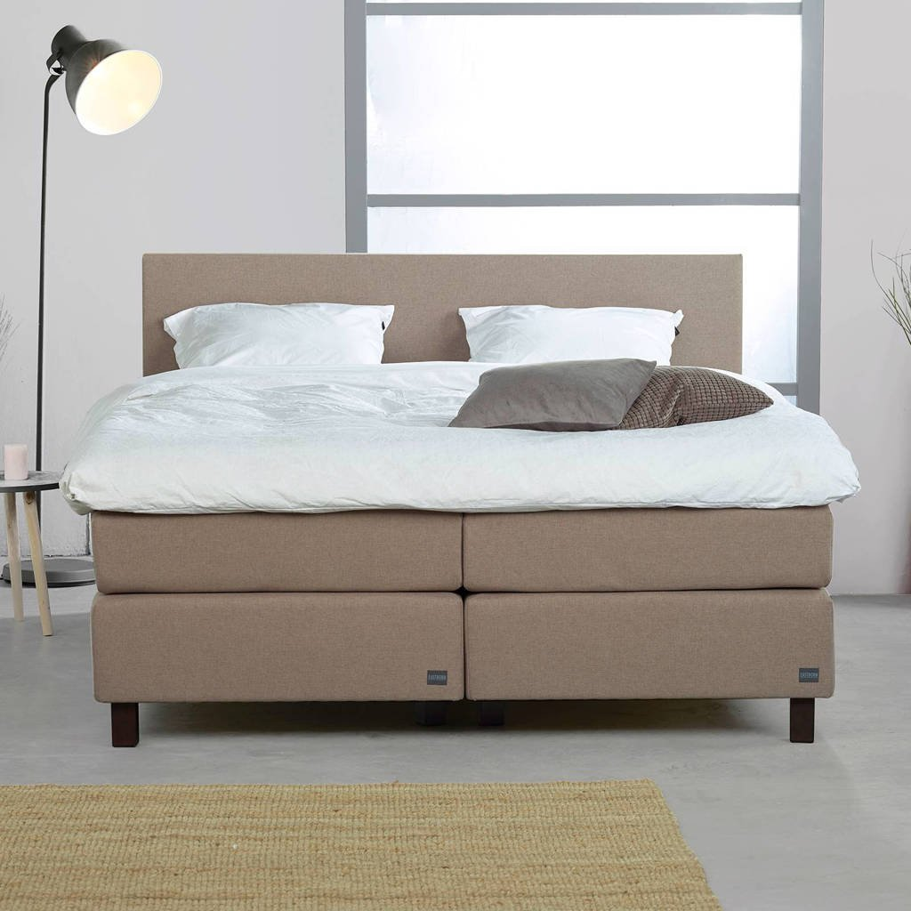 Energy complete boxspring Energy (180x210 cm), Taupe