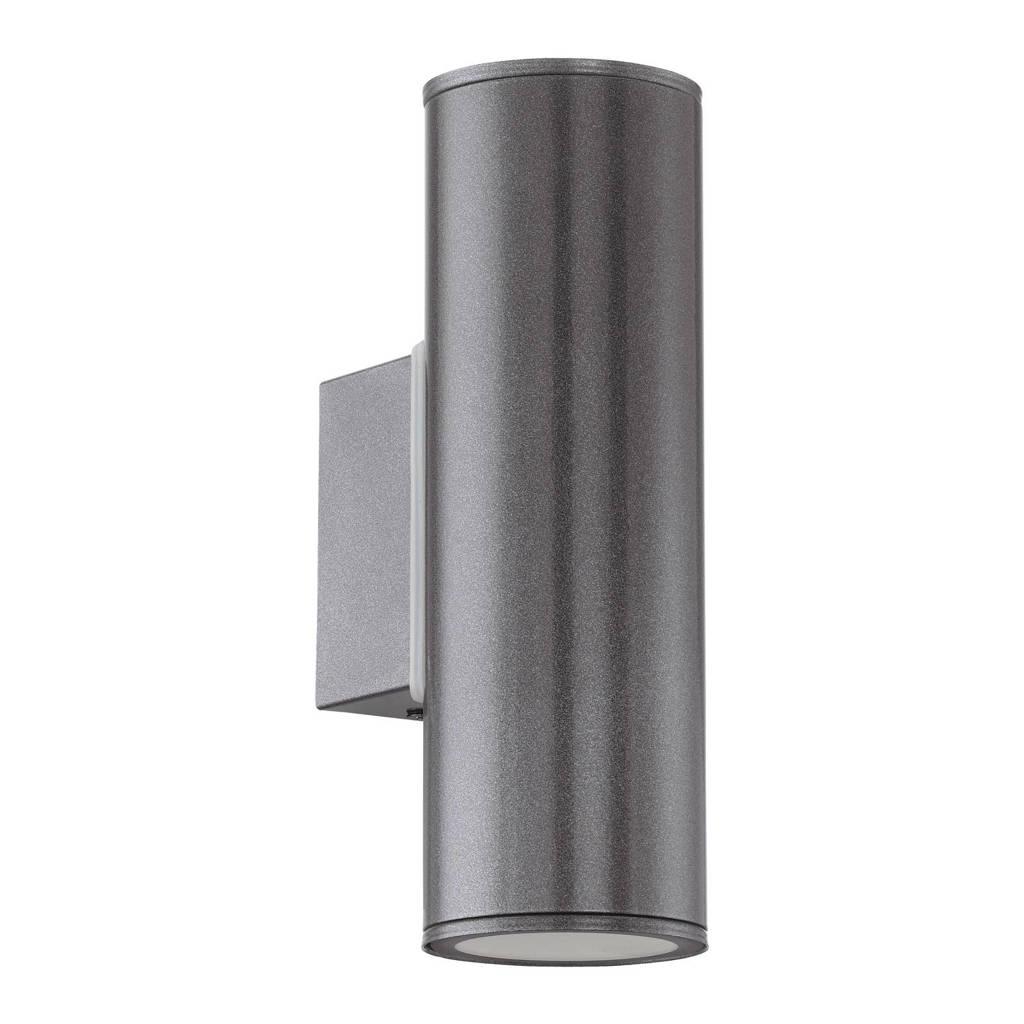 Eglo wandlamp Predazzo, 6,5x9,5x15 cm, Antraciet