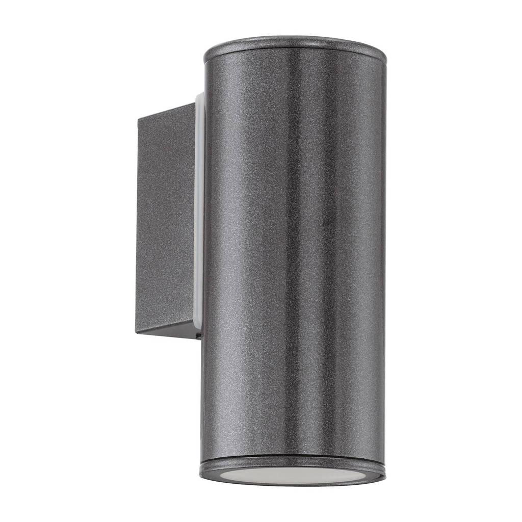 Eglo wandlamp Predazzo, 14x7,5x21 cm, Antraciet