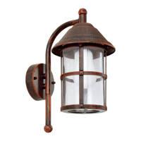 Eglo wandlamp San Telmo, Antiek bruin
