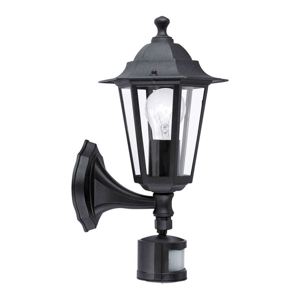 Eglo wandlamp Laterna 4 (met bewegingssensor), Wandlamp met bewegingssensor