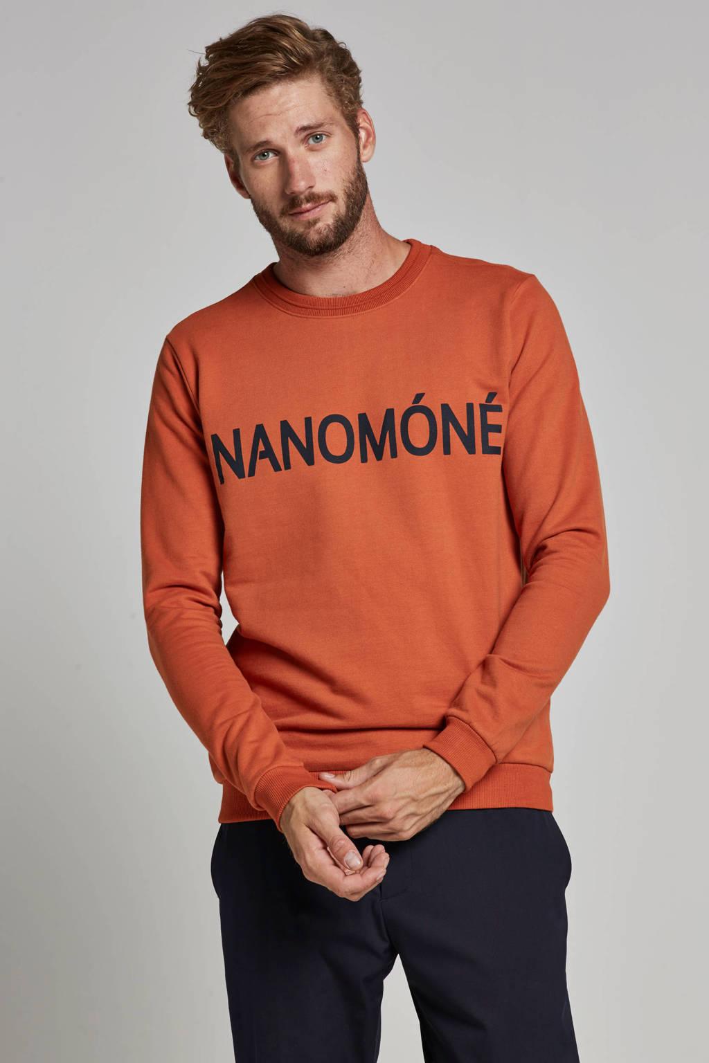 Anerkjendt Peace sweater, Oranje